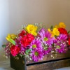 DIY - Daisy Carnation Daffodil Flower Centerpiece