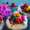 Blueberry Peach Nutella Pavlova Recipe - Video