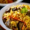 One Pot Meal - Beef Rice Pilaf Recipe (Uzbek Plov)