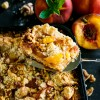 Peach Pie Walnut Bars Recipe