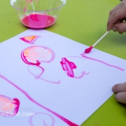 Q-tip Painting Activity for Kids