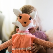 LOOK! I Made My First HANDMADE Little Fox Doll With Easy DIY Tutorial
