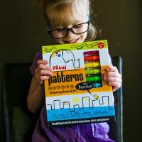 Kids Drawing Kit - Drawing Shapes Colors & Patterns