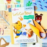 Kumon Book and Kids Safety Scissors Timberdoodle Review