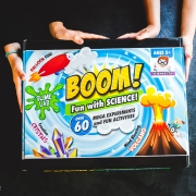Boom Fun with Science Kit - Timberdoodle review